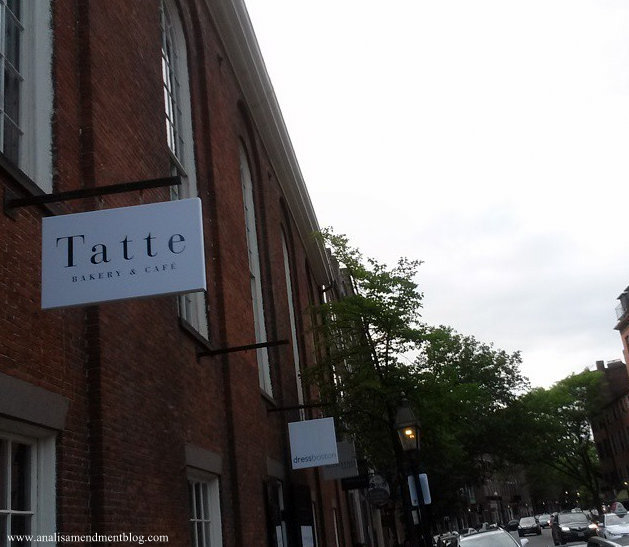 Tatte bakery sign