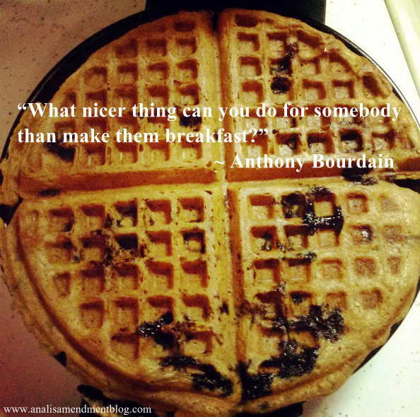blueberry waffles quote