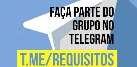 Grupo Análise de Requisitos no Telegram