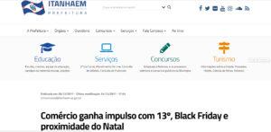 Comércio ganha impulso com 13º, Black Friday e proximidade do Natal - Análise Econômica na Mídia