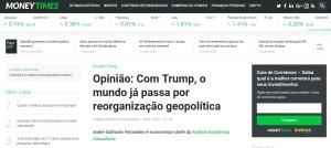 Opinião: Com Trump, o mundo já passa por reorganização geopolítica - Análise Econômica na Mídia