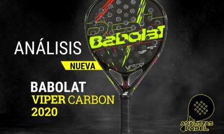"""BABOLAT VIPER CARBON 2020, LA ESCOPETA DE """"EL LOBO"""""""