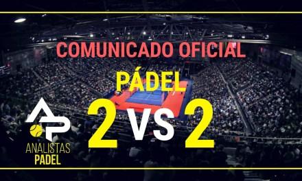 OFICIAL: LA FEDERACIÓN MADRILEÑA DE PÁDEL PERMITE 2 VS 2