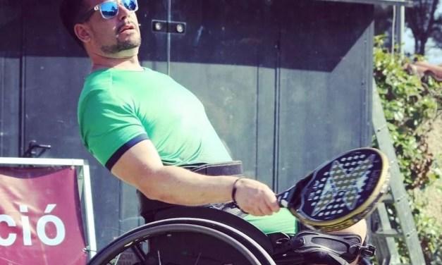 La paraplejia no pudo con Miquel