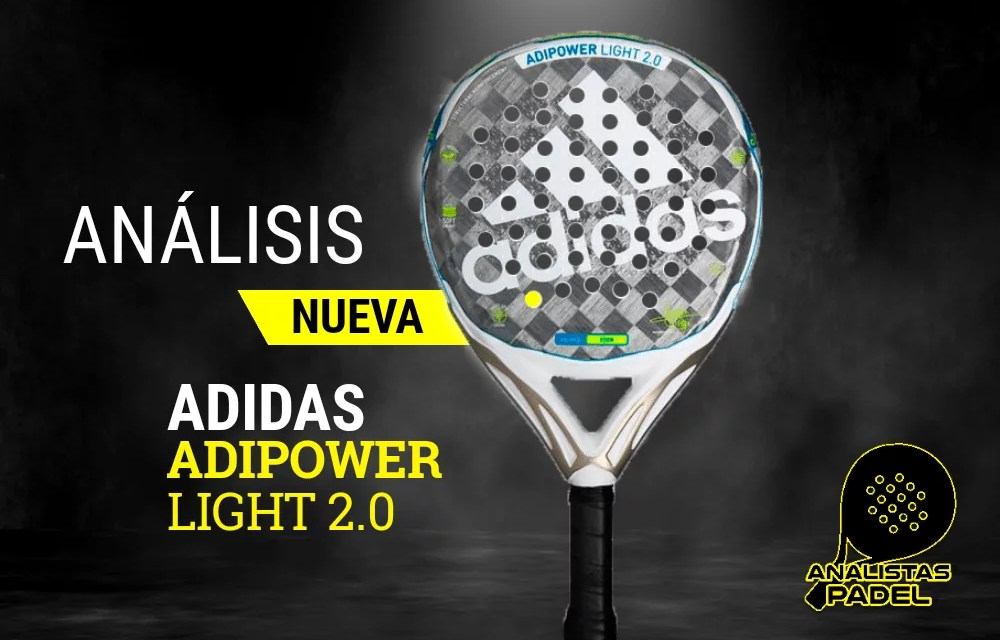 ADIDAS ADIPOWER LIGHT 2.0 LA PALA DE MARTITA ORTEGA