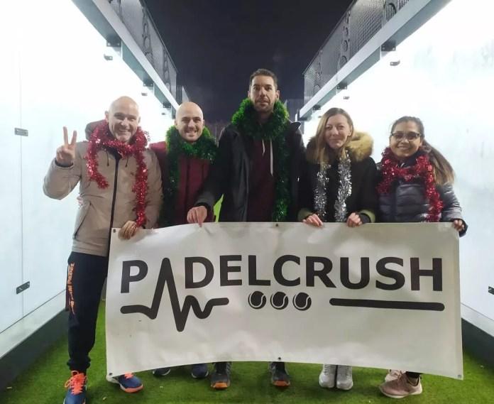 equipo Padelcrsuh de torneos