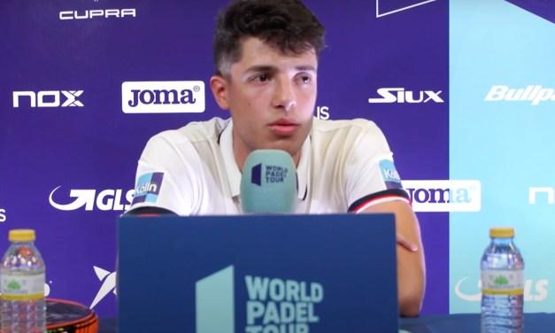 Agustín Tapia presenta el Adeslas Open 2020