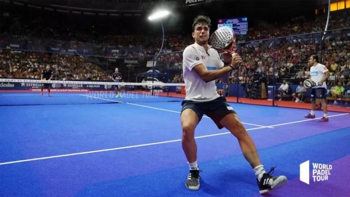 Ale Galán en semifinales Estrella Damm Open 2019