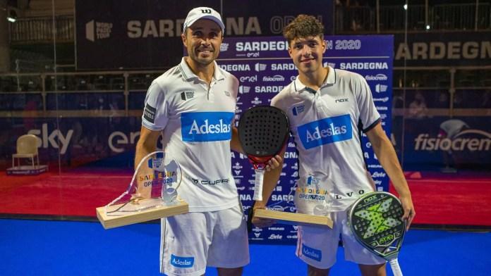 Agustín Tapia y Fernando Belasteguín campeones del Sardegna Open 2020