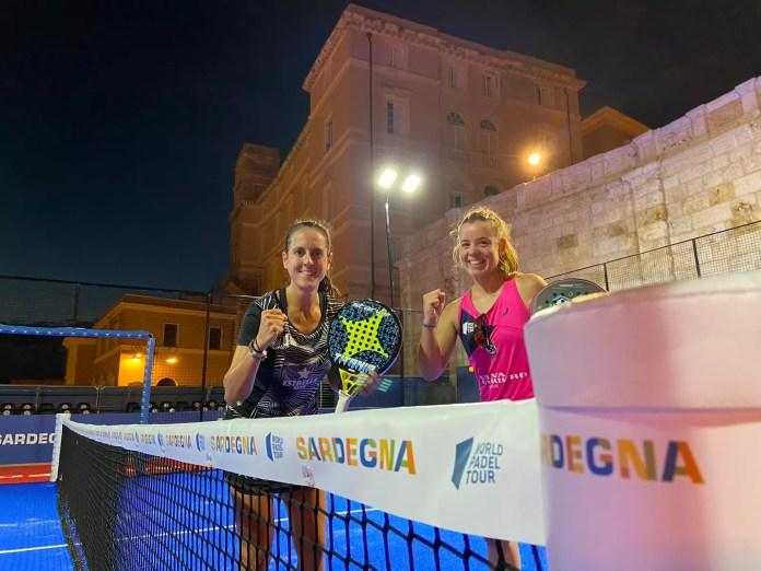 Lucía Martínez y Ana Fernández en dieciseisavos de final Sardegna Open 2020
