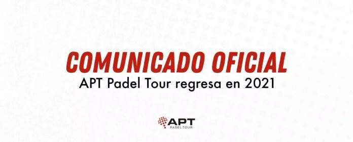 Comunicado oficial APT