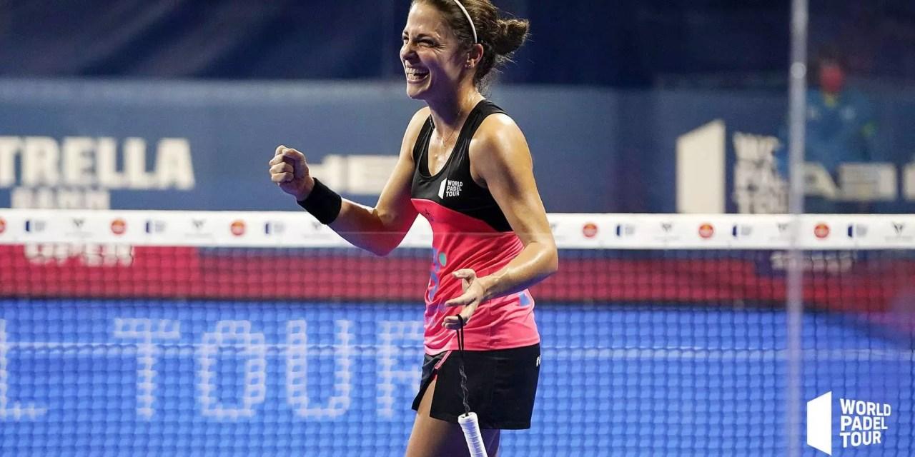 Clasificadas en cuartos de final Alicante Open