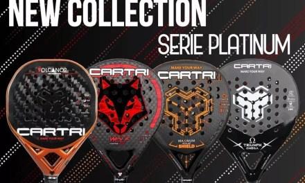 Nueva colección de palas Cartri 2021