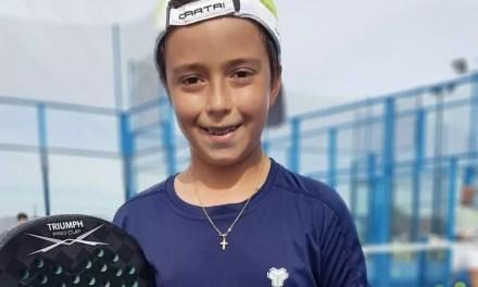 Christian Guerrero:»Mi sueño en el pádel es llegar a ser campeón del mundo»