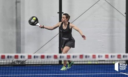 Lucía Martínez del Team Cartri a octavos de final