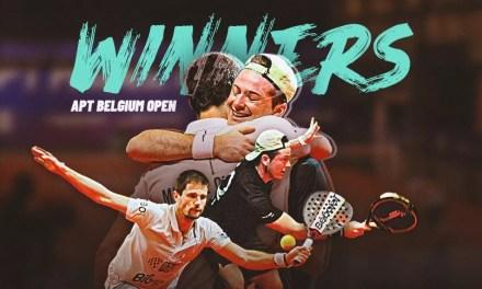 Oliveira y Rocafort salen campeones del Bélgica Open