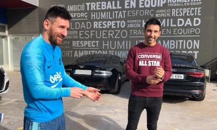 Leo Messi está en previas de WPT
