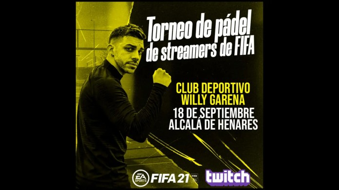 Los grandes streamers de FIFA competirán en un torneo de pádel