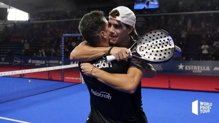 Galán y Lebrón se llevan el sexto título