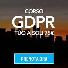 Corso GDPR