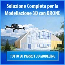 La Soluzione Completa per la Modellazione 3D con DRONE