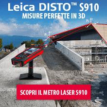 Misurazioni 3D con Leica DISTO S910