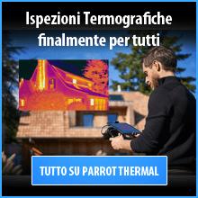 La Soluzione Completa per ispezioni termografiche con DRONE