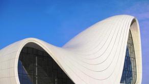 Heydar Aliyev Cultural Center, obra de Zaha Hadid