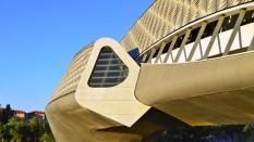 Pabellón Puente, obra de Zaha Hadid