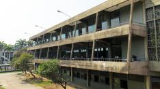 Balcones de la Biblioteca Central. Foto: Roberts González