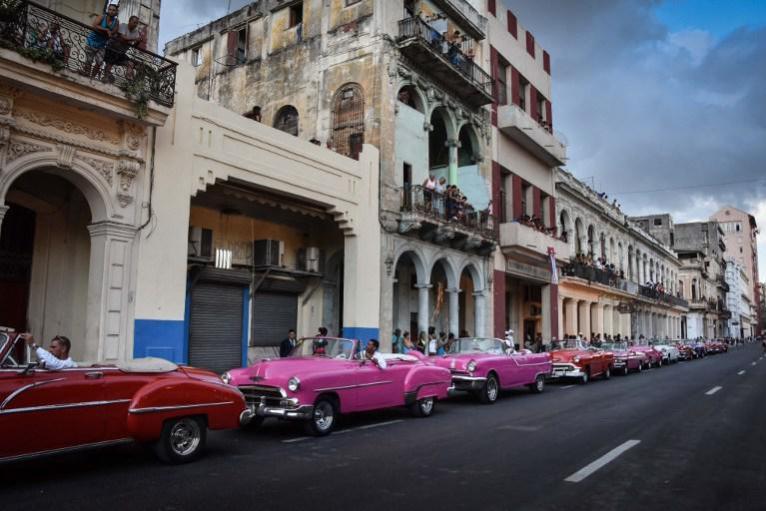 Almendrones cubanos/ Foto: AFP