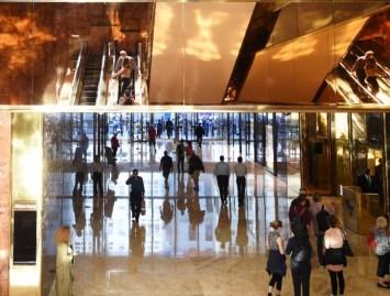 La Torre Trump está ubicada en la 5ta avenida de Nueva York