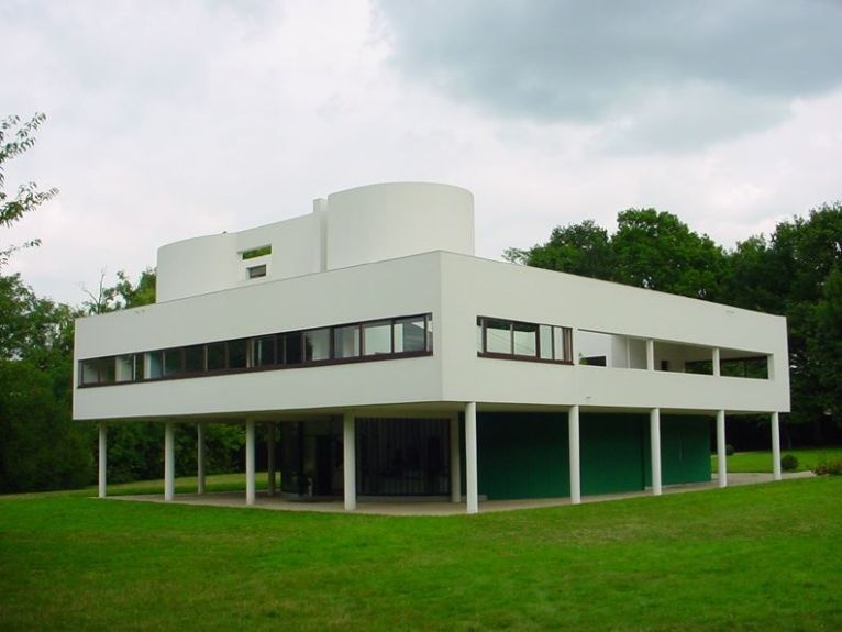 Villa Savoye, en Francia