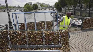 La alcaldía quitó las 70 toneladas de candados