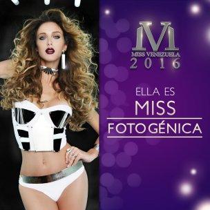 Miss Miranda, Miss Fotogénica 2016 / Foto: @missvenezuela