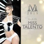 Miss Apure, Miss Talento 2016 / Foto: @missvenezuela