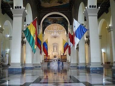 Nave central del Panteón Nacional de Venezuela