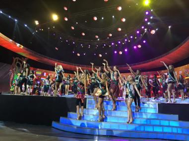 Embajadoras de la belleza en el Opening