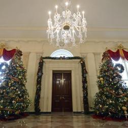 Árboles navideños de la Casa Blanca en 2013
