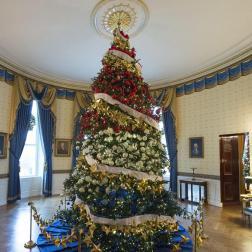 Árbol de la Casa Blanca en la Navidad 2014