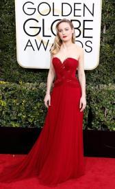 Brie Larson en la gala de los Golden Globes 2016