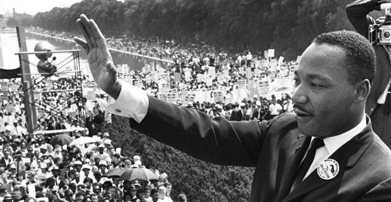 Martin Luther King, defensor de los derechos civiles