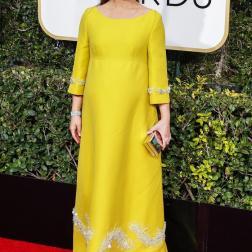 Natalie Portman en los Golden Globes 2017
