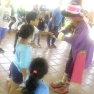 Niños disfrutaron de diversas actividades