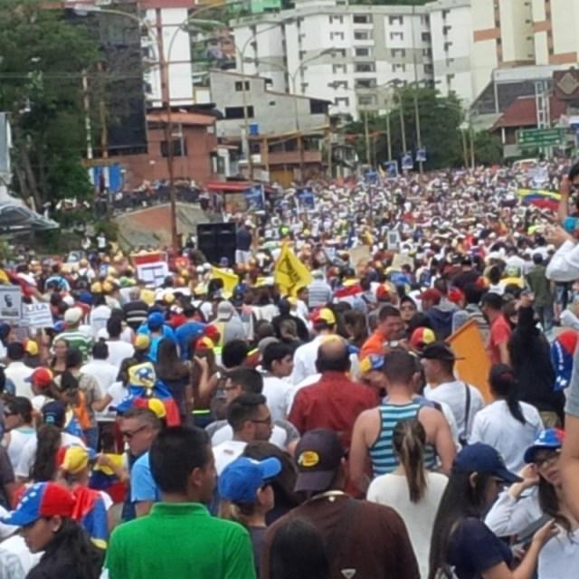 La dirigencia de oposición en Mérida aseguró que no abandonará la calle hasta tanto logren recuperar la democracia con elecciones libres y generales