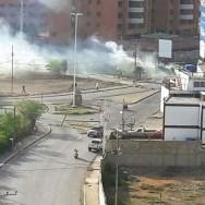 Se registra represion en la zona/Foto: Correpsonsalia