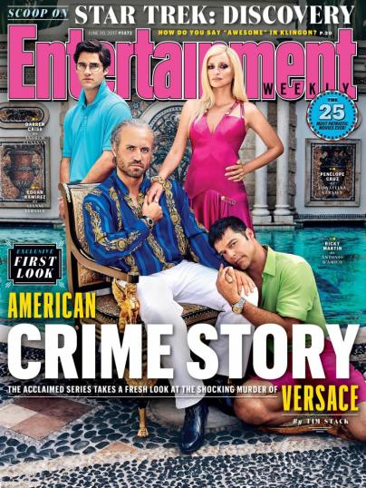 Póster oficial de American Crime Story: Versace/ Foto: Entertainment Weekly
