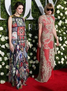 La editora de Vogue US, Anna Wintour (D) y su hija Bee Shaffer (I)/ Foto: EFE