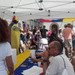 En Italia, la comunidad de venezolanos residentes en Florencia asistió desde toda la Toscana/ Foto: Cortesía