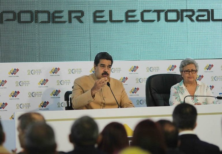 La trampa antielectoral de Nicolás Maduro